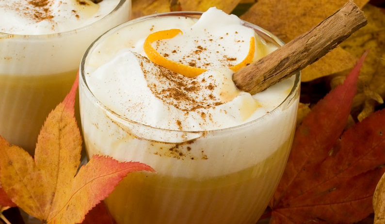White Chocolate Pumpkin Spiced Latte