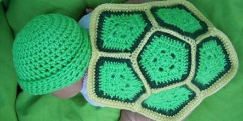 Crochet Turtle Shell Blanket And Cap Patterns Inspiration Crochet Turtle Blanket Pattern