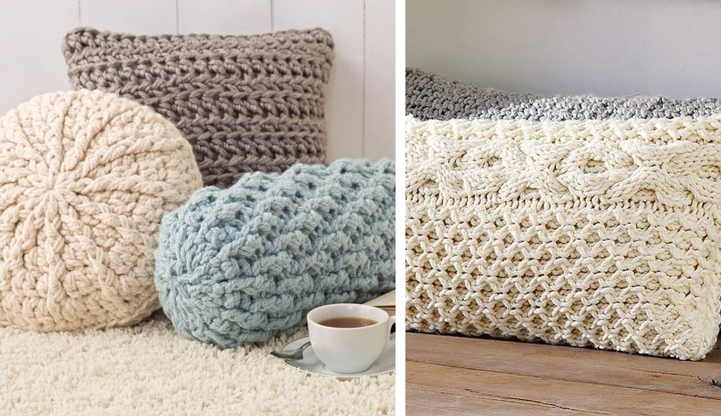 Cozy Crochet Pillows (Free Pattern)