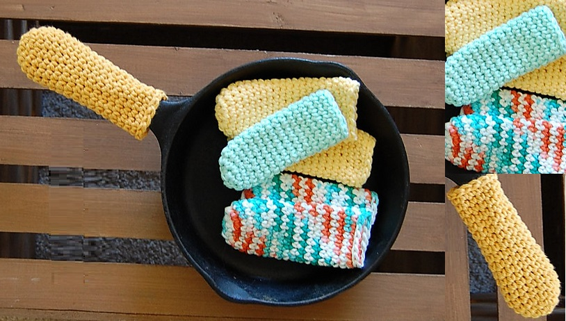 Crochet Pan Handle Holder (Patterns)