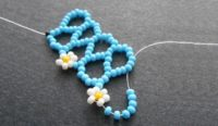 Inspirational Beading Tutorial Daisy Chevron Chain