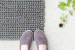 Use nylon rope from home depot to crochet outdoor rug