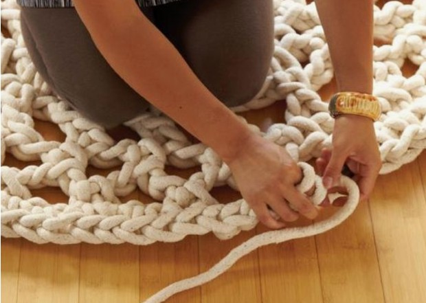 Chunky Rugs, You Can Make These