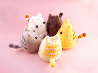 Crochet a Dumpling Kitty (Free Pattern)