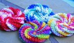 Crochet a Tawashi Scrubber with Crochet Scraps, and Clean the House (Free Pattern)