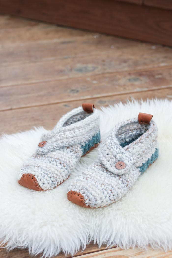 Crochet These Wrap Slippers Free Patterns