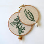 Embroidery for Gardeners - Make Some Dangling Vegetables