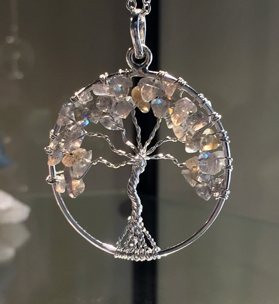 Tree Of Life Pendant With Your Favorite Crystals
