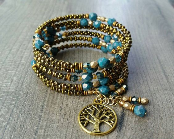Use A Bead Spinner To Make These Cuff Bracelets