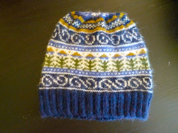 A Fair Isle Hat (Free Pattern)