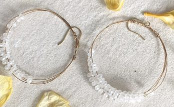 Beaded Hoop Earrings - Do It Yourself