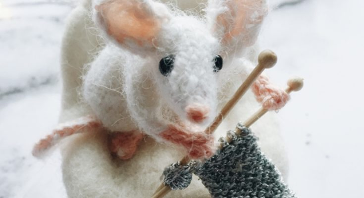 Knitted Mouse and Other Animals