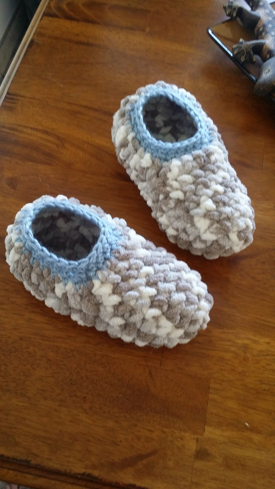 Simple Crochet Pattern for Slippers (Free)