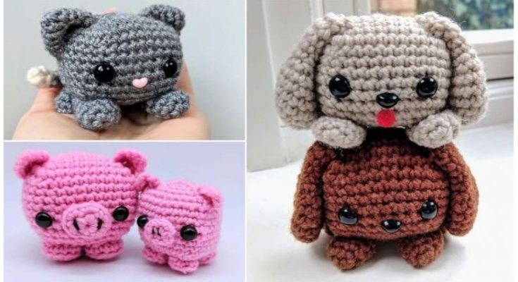 Japanese Amigurumi Crochet Patterns - Ollie + Holly | 400x735